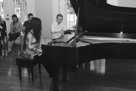 From stage to classroom, Gavrylyuk returns to teach piano masterclasses