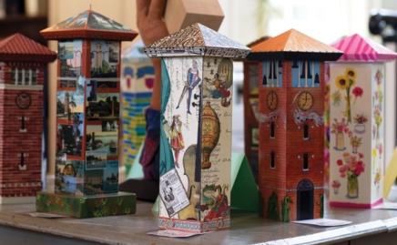 100 mini bell towers celebrateanniversary