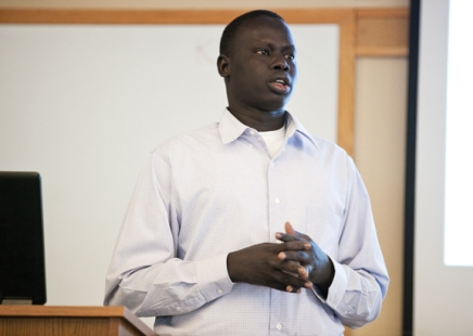 One Lost Boy of Sudan finds path, shares life story