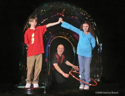 """Bubble Man"" Doug Rougeux"