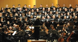 Doreen Rao leads the Buffalo Philharmonic Chorus and the Chautauqua Symphony Orchestra in a concert featuring the works of Bach and Bernstein at 8:15 p.m. Saturday in the Amphitheater. Submitted photo.