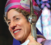 Jefferts Schori shares personal faith journey at Vespers