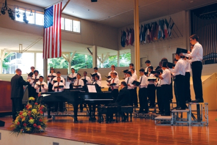 Hope for tomorrow's music: State summer school choirs to perform emotional, classicalworks