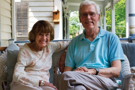 Anderson, Parsons support Chautauqua through Scholar inResidence