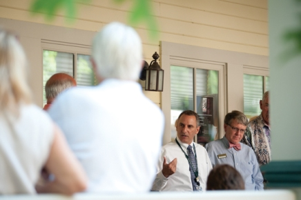 Porch Discussion covers closing the fiscal gap, creating sustainability