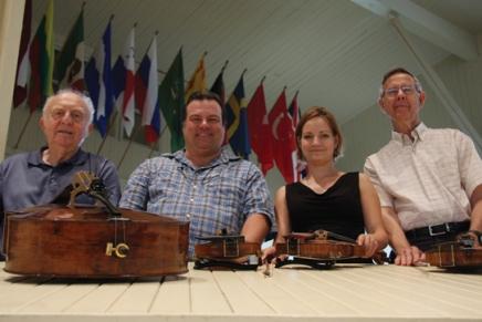 Chautauqua Quartet to share intimatevoices