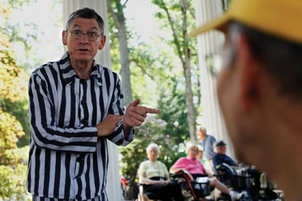 A twist on tradition: Staggs brings Bonhoeffer tolife