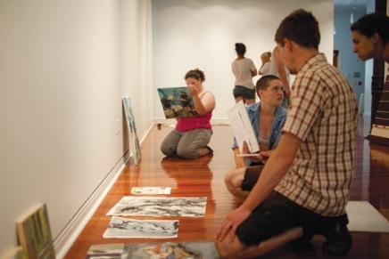 School of Art Annual Show celebrates students'dedication