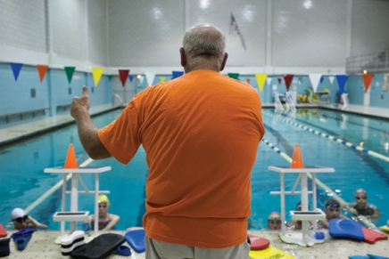 Competitive class helps swimmers stay active during their off-season
