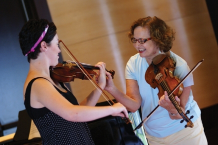 Vamos teaches master class on importance of musical familytree