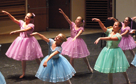 The Chautauqua Regional Youth Ballet performs at 7 p.m. tonight in Elizabeth S. Lenna Hall. (provided photo)