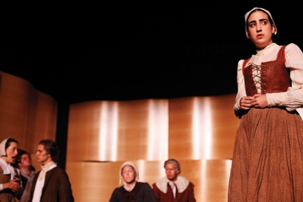 Malas recalls debut of 'The Crucible' as anopera