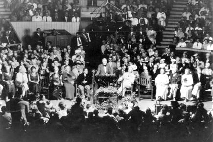 President Roosevelt: 'I Have Seen War. I HateWar.'