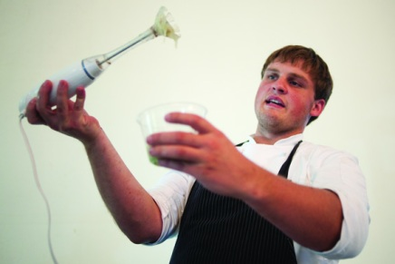 Food Science: Molecular cooking demonstration highlights creativity in culinary arts