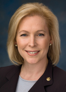 Gillibrand takes questions in Hall of Philosophy event