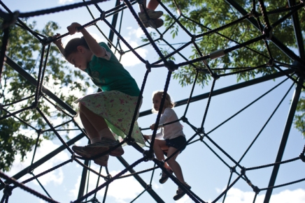 Prendergast Playground provides kids hidden space for self-discovery