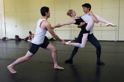 Choreographic workshop gives dancers freedom to create