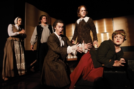 Opening night of 'The Crucible' presents haunting tale from America'spast