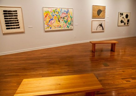 'Abstraction' exhibits 15 drawings that 'command the room'