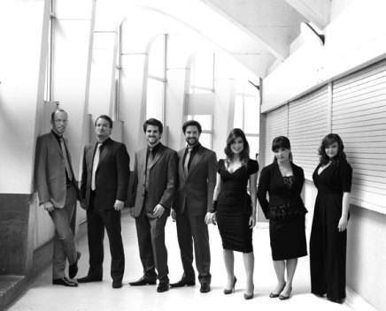 Swingle Singers' singular sound sweeps stage