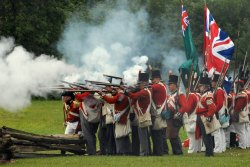 "Segments of the WNED documentary ""The War of 1812"" will be screened at 3:30 p.m. today in the Hall of Christ. Photo courtesy of WNED."