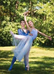 Festival students perform Balanchine's Serenade tonight in theAmphitheater