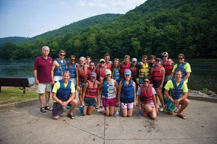 Club keeps tradition rowing with annual canoe trip