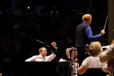 Seaman, Gavrylyuk accompany CSO for evening of popular classical repertoire