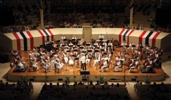 The Chautauqua Symphony Orchestra, here in July 2011, performs its annual Independence Day Pops Concert at 8 p.m. tonight in the Amp. Daily file photo.