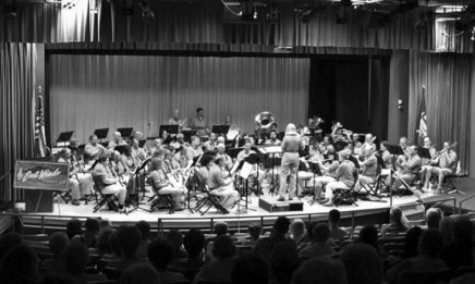 East Winds Symphonic Band 'steps out' into Chautauqua