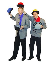 Gizmo Guys juggle their way to Chautauqua for Family Entertainment Series