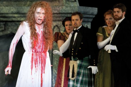 Guest Review: Lucia goes daft in theAmphitheater