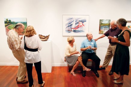 Dinner, dancing at galleries to support artscholarships