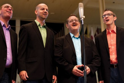 Barbershop Harmony Parade returns to Amp