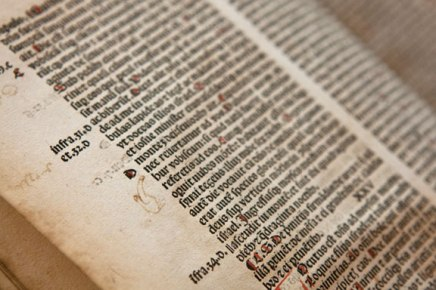 Chautauquan donates 511-year-old Bible for Institution's book collection