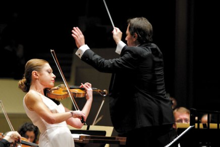 CSO, Levin, Khitruk shine Saturday in an evening of debuts
