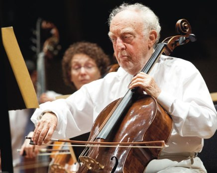 CSO principal cellist, inspiring musician, man of the world, retires