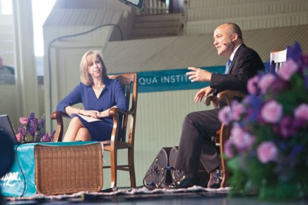 Gibbs, Duffy close 2012 morning lecture series with look ahead to election