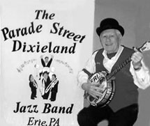 Harry Aldrich, founder of the Parade Street Dixieland Jazz Band