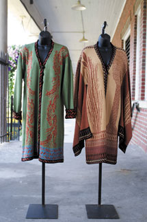D'Andradé's trunk show exhibits, sells opera-inspired garments