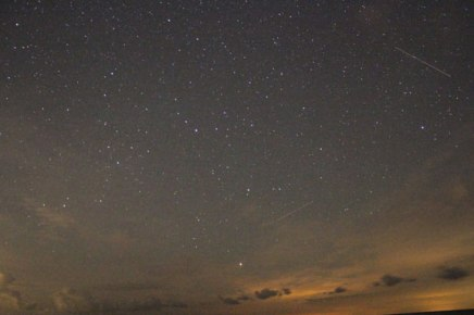 Video: Perseid meteor shower time-lapse