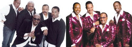 The Temptations, the Four Tops bring music and moves to the Amphitheater