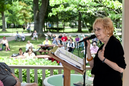 Hitting the write note: Writers' Center celebrates 25 years at Chautauqua