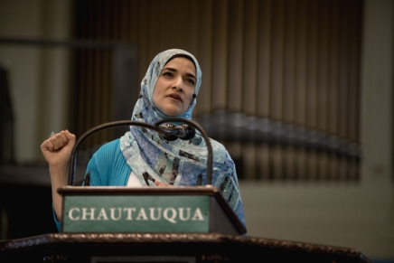 Mogahed shines light on Arab world
