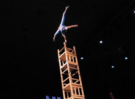 How'd they do that?! Chautauqua-favorite Golden Dragon Acrobats espouse traditional and acrobatic family values