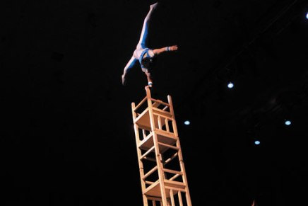 How'd they do that?! Chautauqua-favorite Golden Dragon Acrobats espouse traditional and acrobatic familyvalues