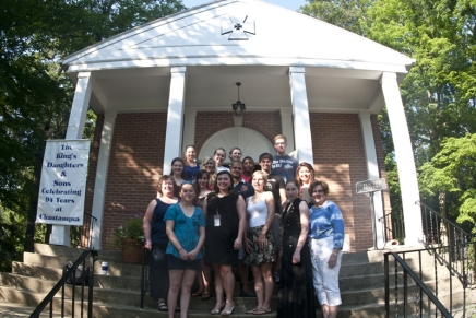 Chautauqua provides setting to renew, recharge for IOKDSscholars