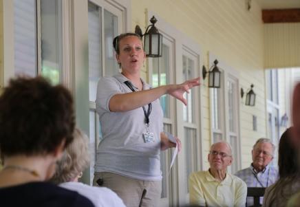 Shedd, Kiblin inform community of lake healthefforts