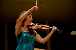 Guest violinist Tasmin Little (pictured) and conductor Josep  join the Chautauqua Symphony Orchestra for its Thursday evening performance in the Amphitheater. (1)