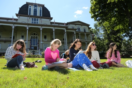 For young writers, camp an exciting alternative to Boys' and Girls' Club
